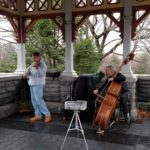 Musicians at Belvedere Castle